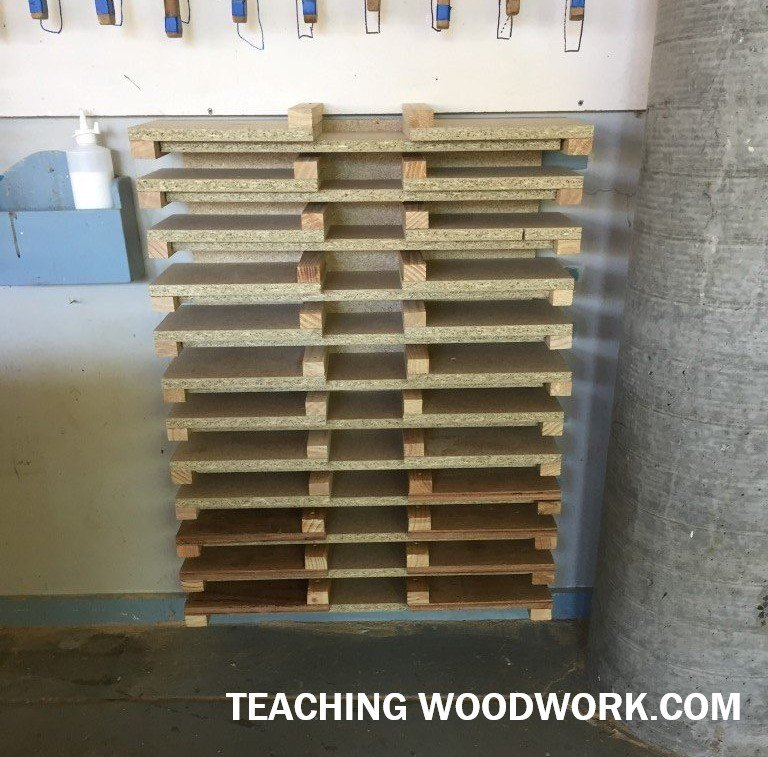 Class Bench Hook Storage