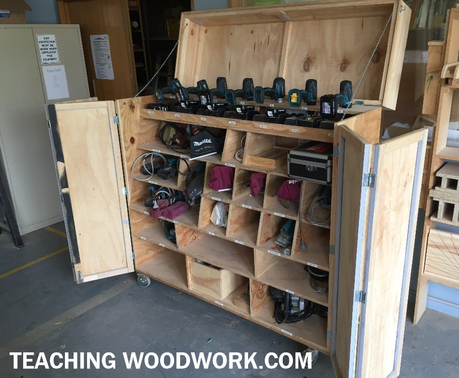 Class Power Tool Storage
