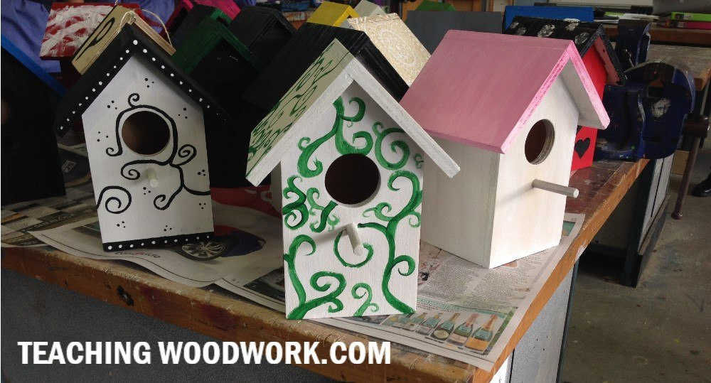 Birdhouse made by students
