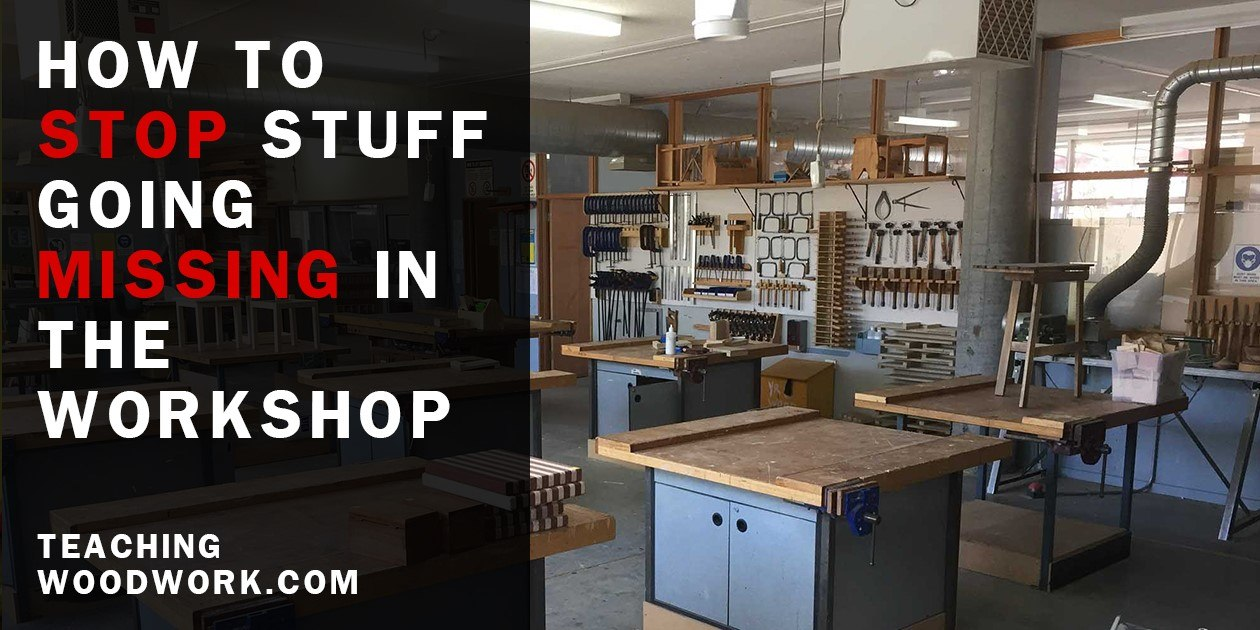 Stop Stuff Going Missing in the Workshop