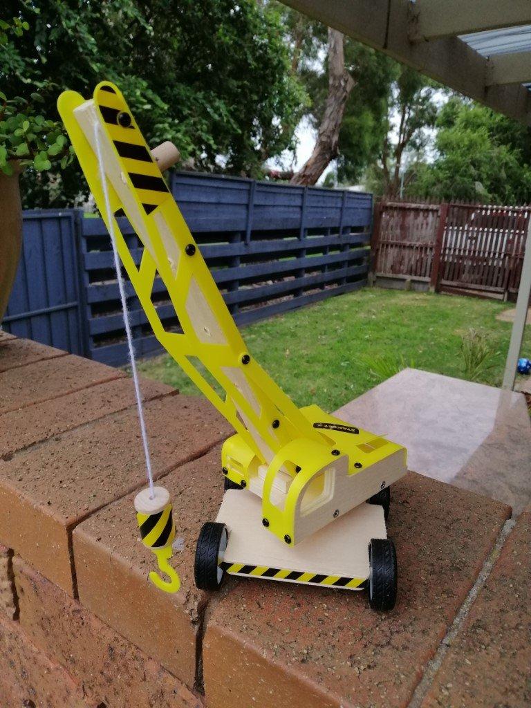 Finished lifting crane 2