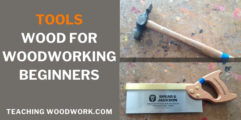 Tools for woodworking beginners banner