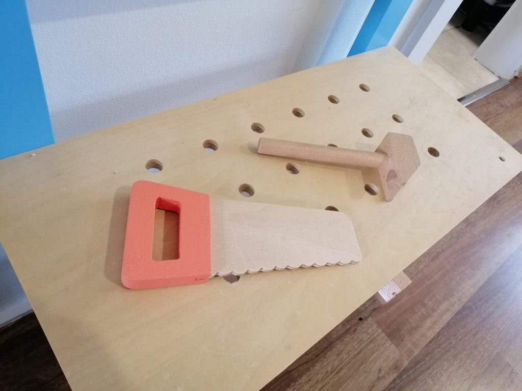 Workbench tools for kids